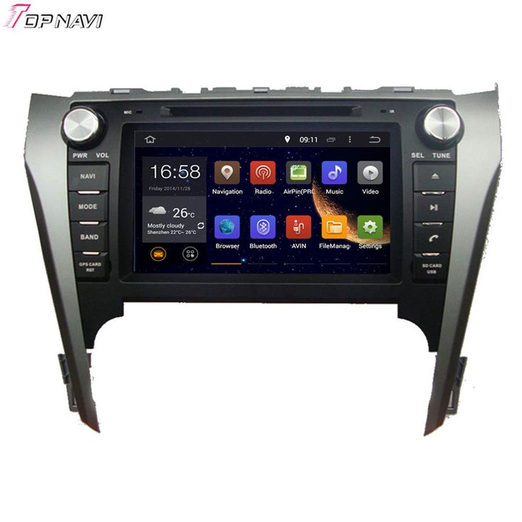 8' Quad Core Android 5.1 Car Stereo GPS For TOYOTA CAMRY 2012-  With DVD Radio Multimedia Map 16GB Flash Free Shipping