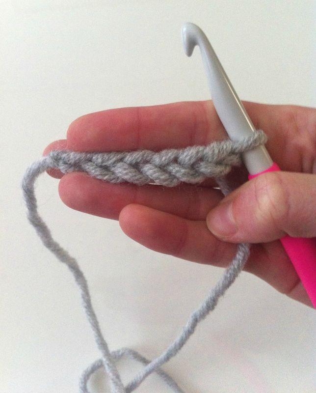 La chaînette : tuto des bases du crochet. Tuto en français, débutants, gratuit.