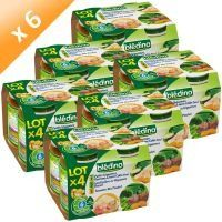 ref2000,Lot de 6 - BLEDINA Assortiments de Petits Pots 4x40g - 28,00 € #onselz