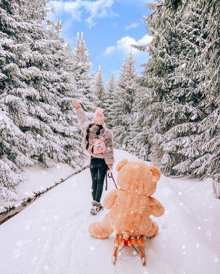 готовность новогодние картинки люди в снегу рисованием