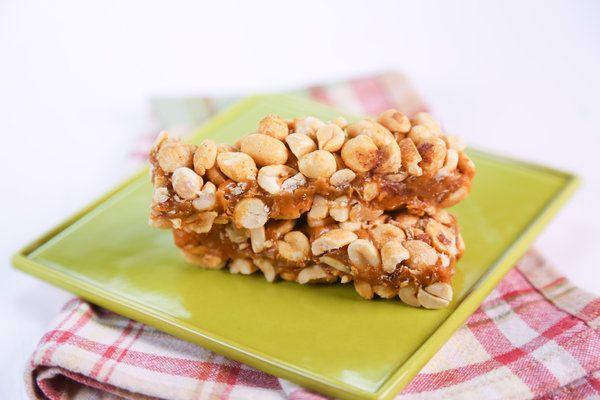 Peanut and Caramel Candy Bar