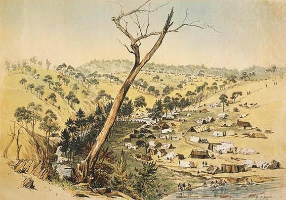 Ophir at the junction June 1851