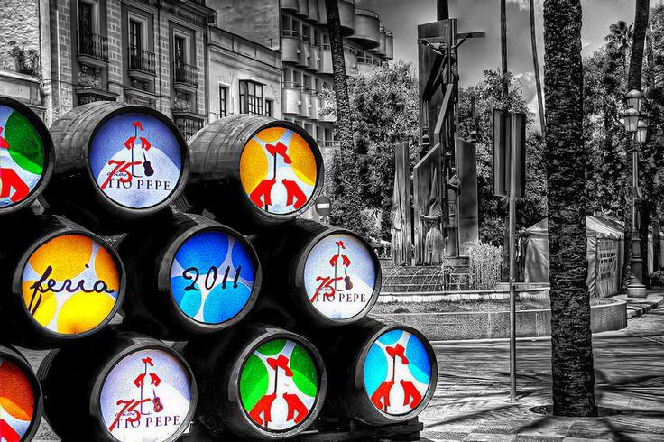 Colourful Barrels