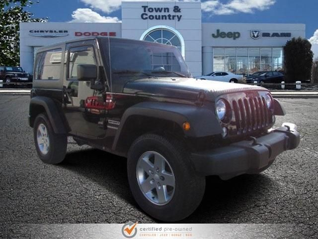 CPO 2013 Jeep Wrangler Sport for sale at Town & Country Jeep Chrysler Dodge Ram in Levittown, NY for $21,985. View now on Cars.com.