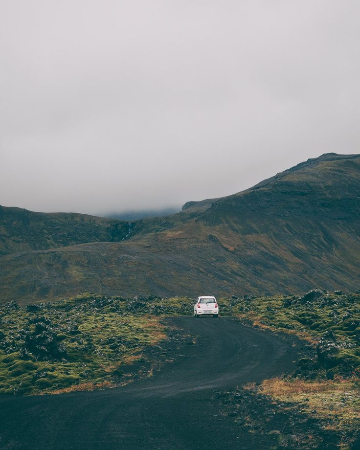 Roads less travelled /// Berserkjahraun, Iceland ©️ Adam Biernat