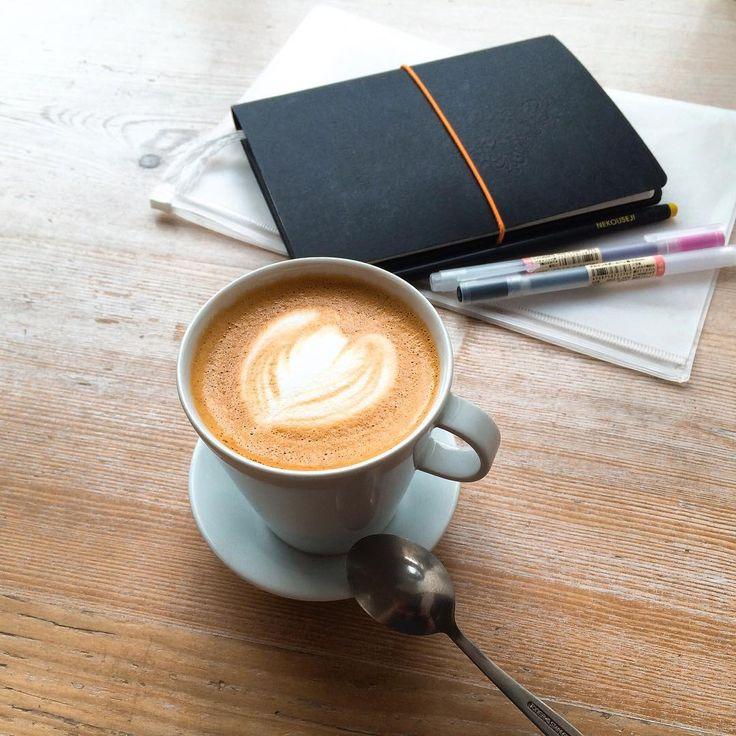 I Need Coffee❤️•myslenky na pratele, kteri mi chybi•plany na prazdniny, ktere se blizi•flat white, diky kterymu je moje rano lepsi☕️... #prague #praha #ineedcoffee #tasteactually #tasteofcoffee #tasteoffriendship #tasteofholiday #summer #friends #flatwhite #coffee #iovecoffee #goodmorning #kavarenskypovalec #milujukafe #kafe #foodblog #foodblogger #czechfoodblogger #missmyfriends