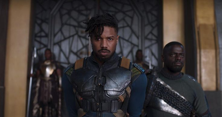 First look at Michael B. Jordan in Black Panther teaser trailer