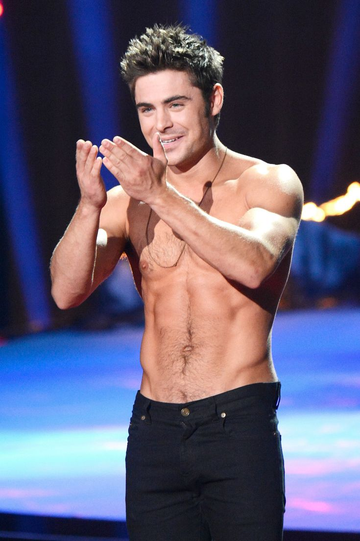 I know I'm probably old enough to be his mother but Yay for Zac Efron!!