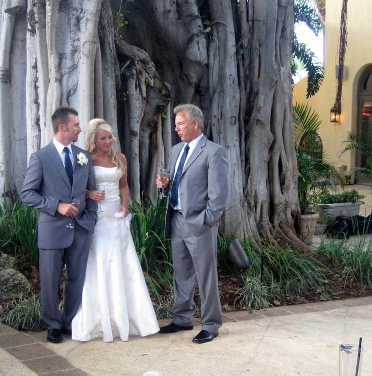 Florida Wedding Venue: Beautiful wedding @TheAddison @BocaRaton Florida with Harpist Esther Underhay @TheAddison #BocaRaton #Floridawedding #bride #groom #harpist #harp #wedding #ceremony #music #luxury @theelegantharp