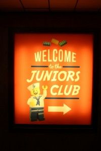 Juniors club - MSC Sinfonia