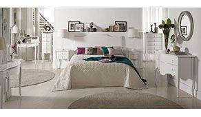 Dormitorio Vintage Blanco Astoria/