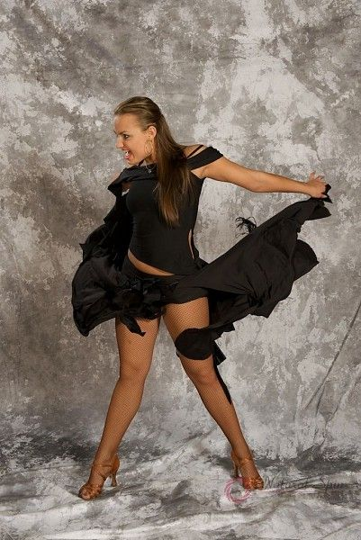 Natural Spin Dancewear Tango Dancewear:  M031ST