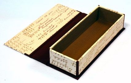 One of Maggie Hallam's Pencil Boxes