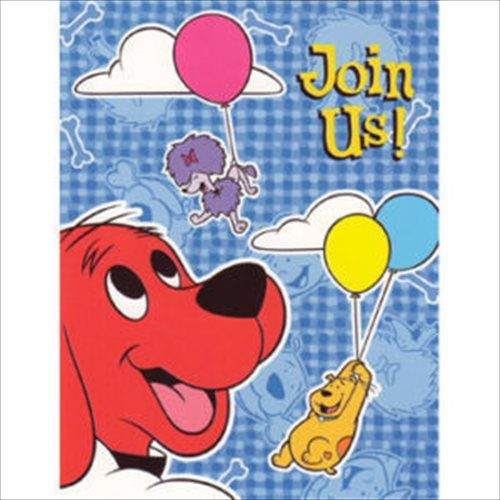 Clifford The Big Red Dog Napkins