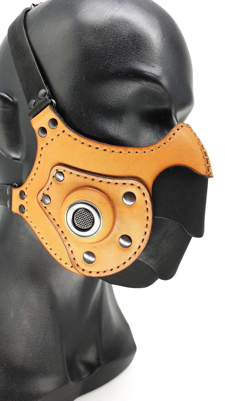 Máscara de respirador, máscara Steampunk, máscara hecha a