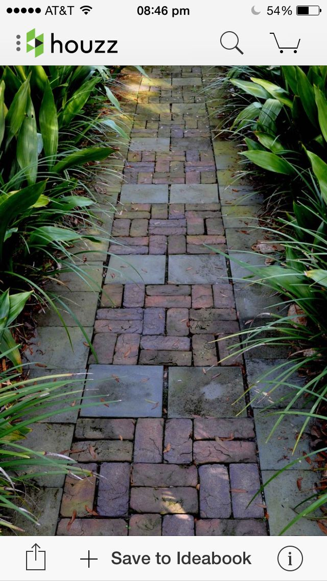 25 best ideas about brick path on pinterest brick for Easy garden path ideas