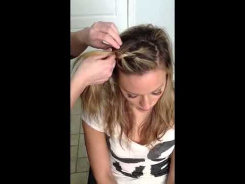 Front French Braid Tutorial