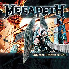 "#Megadeth"" United Abominations"" On Vinyl - Madcap Music and More.com # $23.95"