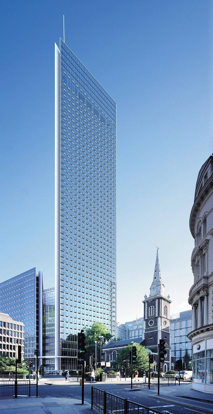 The Minerva Building-St Boltophs, London-UK, 217 m, cancelled-proposed date 2003