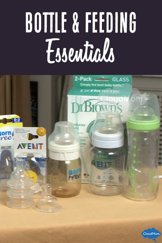 Super helpful preparing for newborn checklist - tips on the best type of bottles & baby formula to buy before baby arrives!