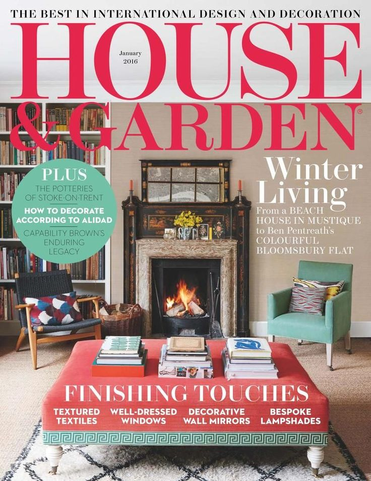 House and Garden Back Issue January 2016 (Digital ...