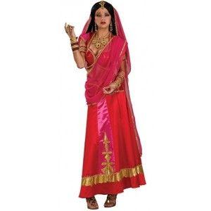 Déguisement Bollywood beauty glamour deluxe femme chic et raffiné.
