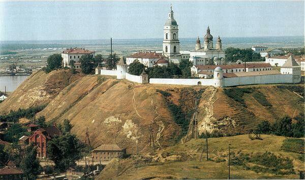 """The Kremlin at Tobolsk,Russia. """"AL"""""""