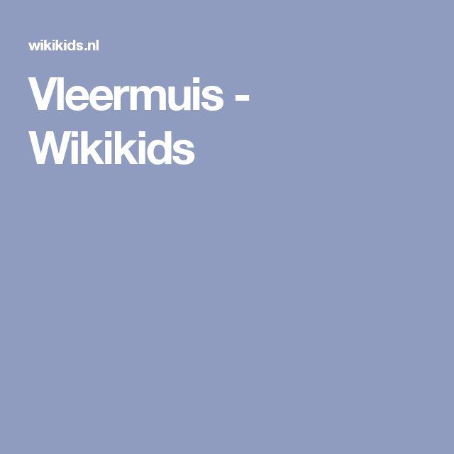 Vleermuis - Wikikids