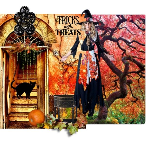 """""""TRICK OR TREAT"""" by diaparsons on Polyvore"""