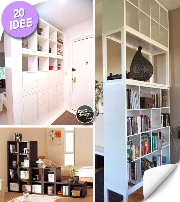 20 Idee Per Usare Gli Scaffali Ikea Come Separe Lasciatevi Ispirare Scaffali Ikea Ikea Arredamento Ingresso Rustico