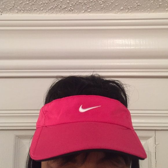 Nike visor Bright pink nike sun visor Nike Accessories Hats