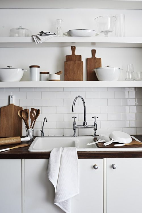 #Sainsbury's new range of oak and white-tipped kitchenware is introduced this autumn, offering a chic and timeless, natural look. #interiors #decor
