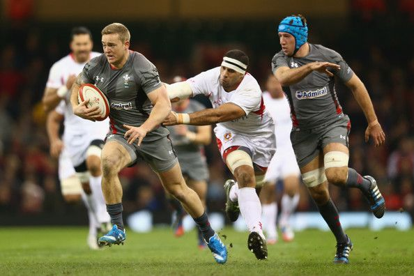 Owen Williams - Wales v Tonga