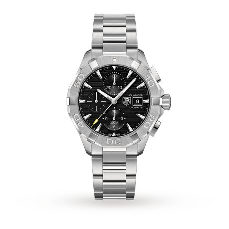 £1750 - For Him - TAG Heuer Aquaracer Mens Watch - CAY2110.BA0925