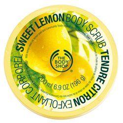 The Body Shop Sweet Lemon Body Scrub, Regular, 7.75 Ounce - List price: $18.00 Price: $12.06 + Free Shipping
