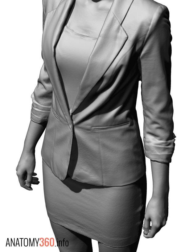 Anatomy 360 — Female Reference, jacket