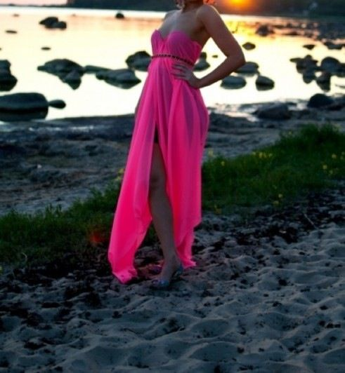 ❤️ pink maxi dress