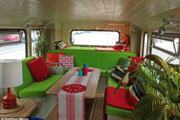 The Big Green Double Decker Bus | 10 Vintage Buses Transformed Into Stunning Mobile Homes