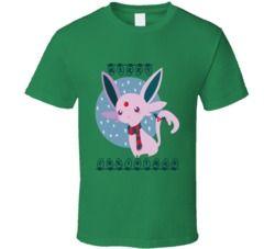 Kawaii Eevee Christmas Cute Pokemon T Shirt