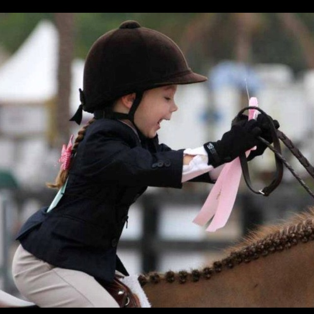 what a photo!: Little Girls, Equine, Horses, Pure Joy, Pink Ribbons, Children, Adorable, Kids, Equestrian