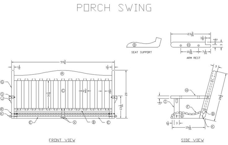 Free log porch swing plans woodworking projects plans for Log swing plans