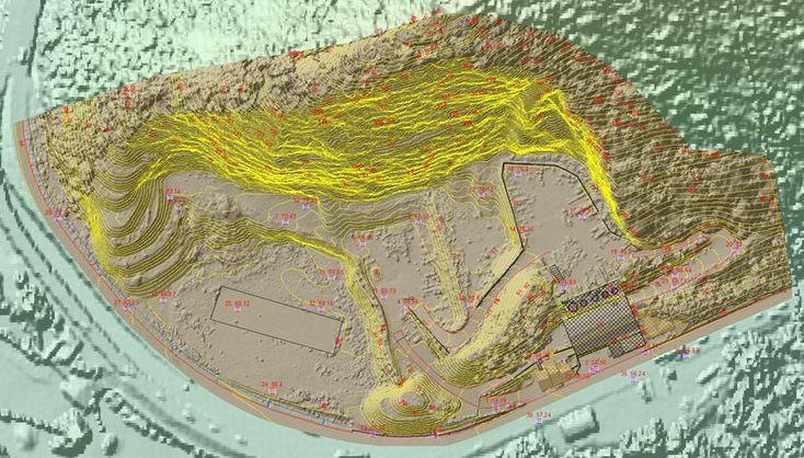 Rilievo aerofotogrammetrico e geostrutturale della cava di Piaggione (LU), Piaggione, 2016 - GeoInformatiX