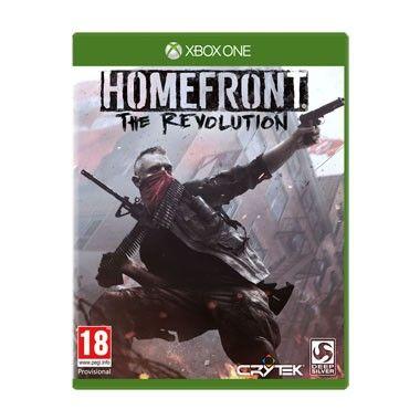 Xbox One Homefront: The Revolution  Homefront: The Revolution voor de Xbox One is een first person shooter die zich afspeelt in een open wereld waarin je het verzet leidt en voert een guerrillaoorlog tegen een superieure legermacht.  EUR 9.99  Meer informatie