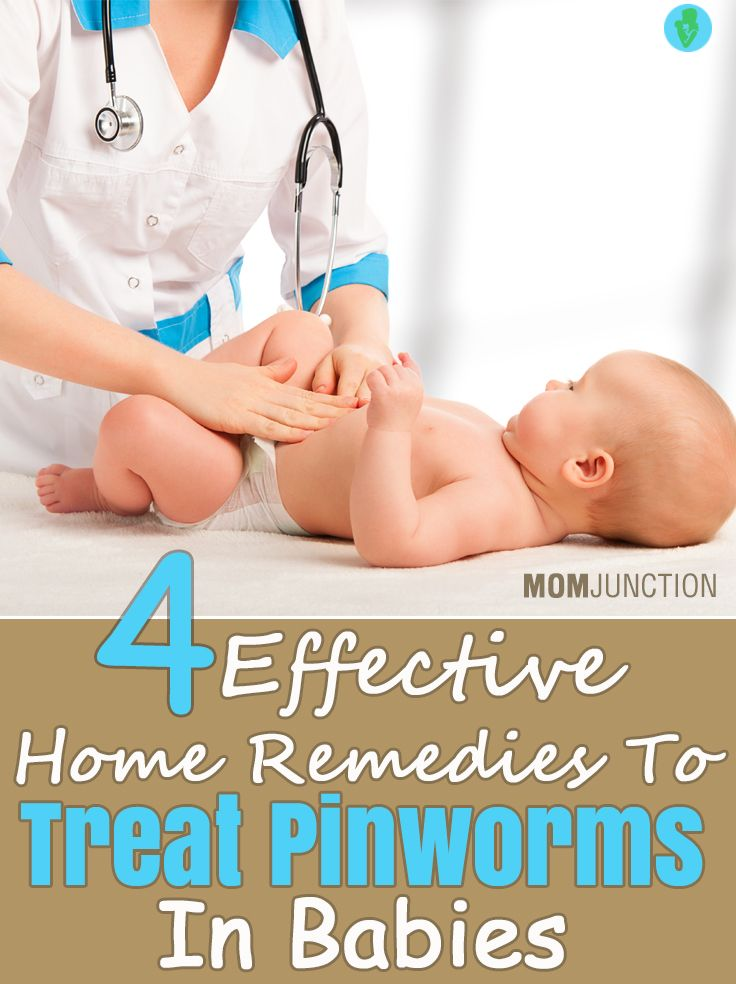 4 Effective Home Remedies To Treat Pinworms In Babies
