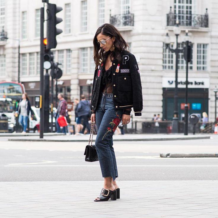 Una tendencia de bordados y parches en un estilo sport y casual por: Maria Ignacia Carrasco #modachile #fashionblog #difundimosmoda