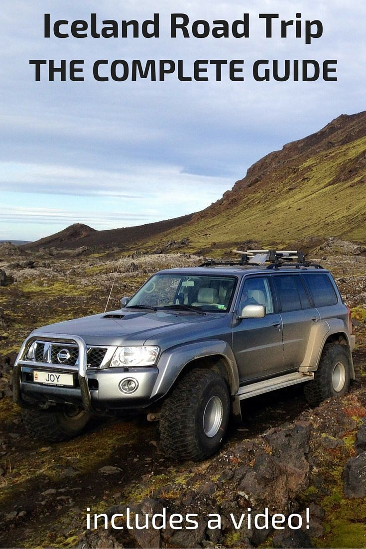Road trip in Iceland - the complete guide: car, rental company, insurance, itinerary, driving rules, road conditions, fuel
