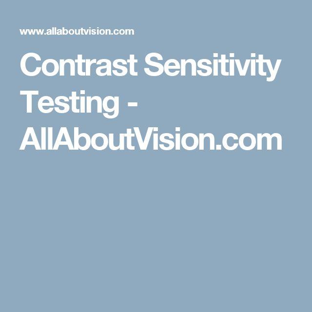 Contrast Sensitivity Testing - AllAboutVision.com