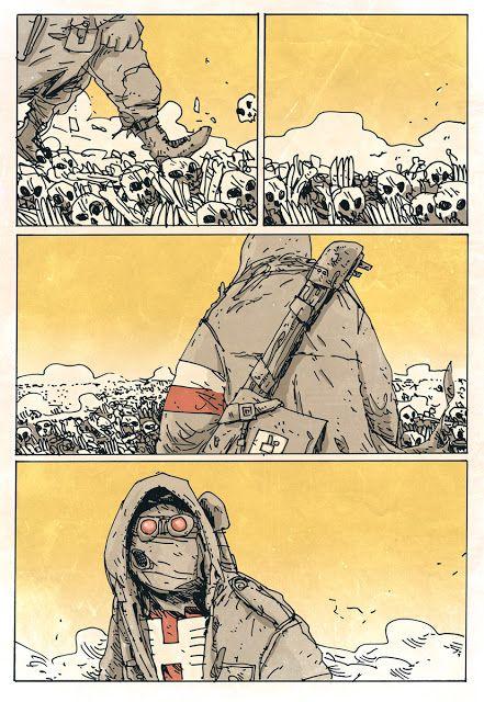 Jakub Kijuc - komiks, ilustracja: Jan Hardy - Dzieci Boże