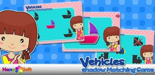 Vehicles Shadow Matching Game is a great game to exercises the brain by looking for pictures which fits into the shadow of each object.