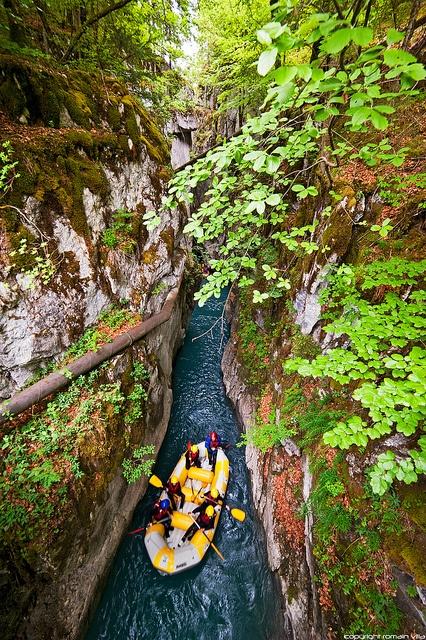 Gorges des Tines - Sixt-Fer-a-Cheval - Haute-Savoie